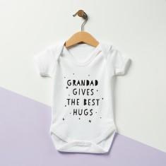 Grandad Gives The Best Hugs Baby Onesie