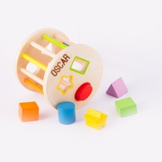 Personalised Rolling Shape Sorter Toy