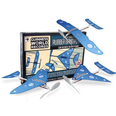 DIY Rubber Band Planes Set