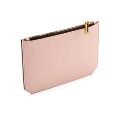 Enn leather pouch (dusty pink)