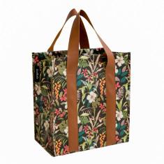 Market Bag in Hibiscus print