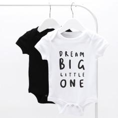 Dream Big Little One Baby Grow