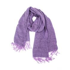 Harloe acrylic knit scarf