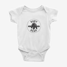 Baby Bear printed baby onesie