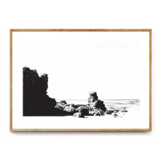 Rugged photographic wall art print