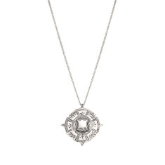 The Fine Sovereign Necklace - Silver