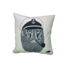 Captain Monkey Pants Cushion Cover