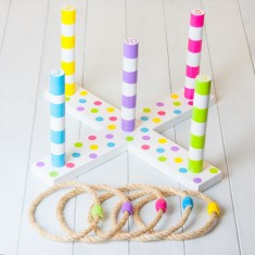 Kids' Throwing Rings Game