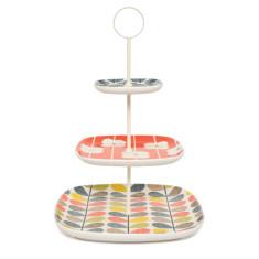 Orla Kiely multi-stem 3-tier cake stand