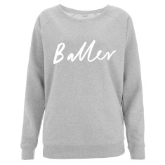 Baller Scoop Neck Women's Sweater