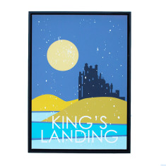 Game of Thrones theme framed print (various designs)