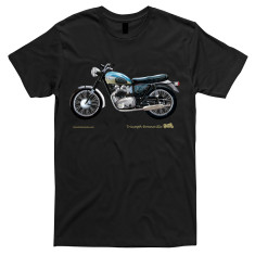 Triumph Bonneville motorcycle t-shirt