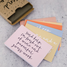 Send help notecard set
