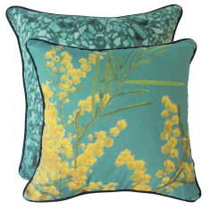Green Wattle cushion cover