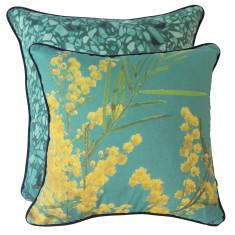Green Wattle cushion cover