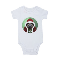 Santa Pug Onesie