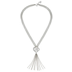 Love Knot Tassle Necklace