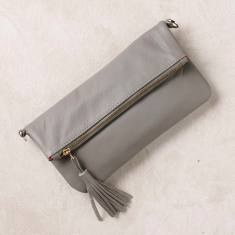Olivia clutch in grey