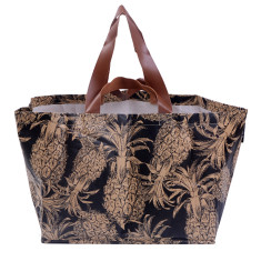 Our Lieu Black Beach Bag