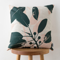 Moreton Bay Fig & Grass cushion cover