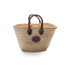 Small classic palm basket