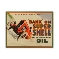 Bank On Shell Sign