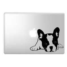 French Bulldog Laptop Sticker