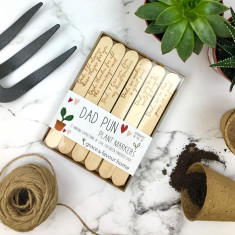 Personalised Dad Plant Makers
