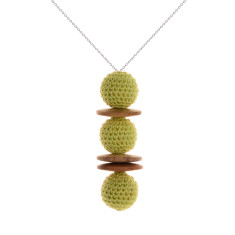 Duchess nature pendant by Mon Bijou (various colours)