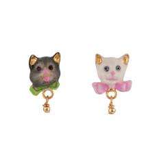 Little Cats Stud Earrings