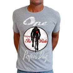 One perfect day cycling men's t-shirt