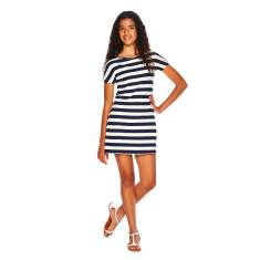 T-shirt dress in nautical