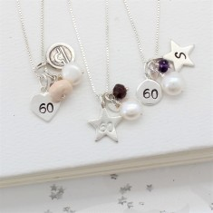 Celebrate 60th Birthday Necklace