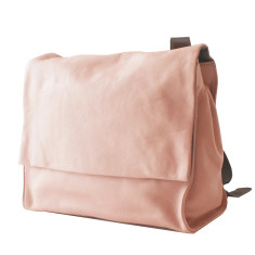 Leather Deckhand Satchel/Backpack - Pink
