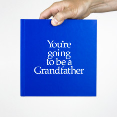 You're going to be a grandfather book and gift