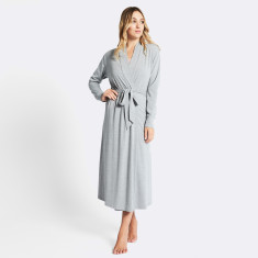 Mon cherie robe in grey marle