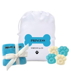 Personalised dog-signer sniffany dog hamper