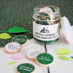 Personalised Grandad's Adventure Ideas Jar