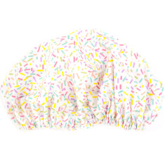 Candy Sprinkles Shower Cap In Laminated Cotton