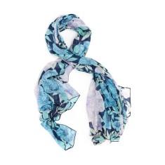 Magnolia floral scarf