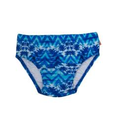 Miami Aqua Nappy Swimsuit