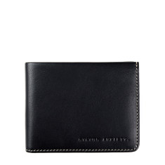 Alfred leather wallet in black