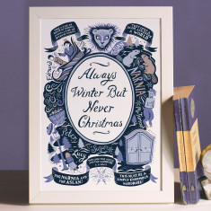 The Lion, the Witch and the Wardrobe, Famous Quotes Print