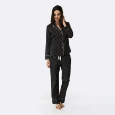 Windmill PJ  Set Black / Pebble