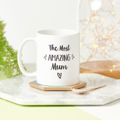 Personalised Amazing Mum/Mummy Mug