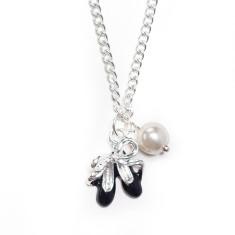Childrens' elegant ballerina necklace
