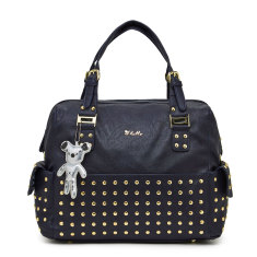 Frankie Baby Bag in navy