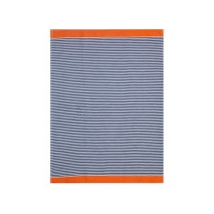 Egyptian tea towels in hinterland orange (pack of 6)