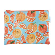 Oranges cosmetic bag