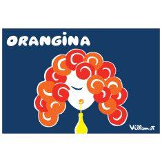 Orangina hair print